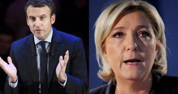 Centrist Macron, Far-Right Leader Le Pen