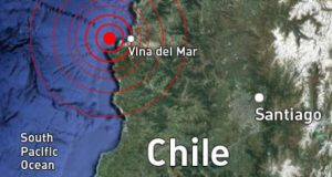 chile santiago 6.9 earthquake