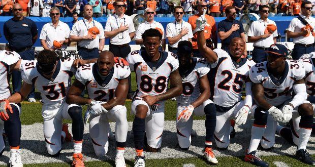 National anthem dispute social media is changing entertainment