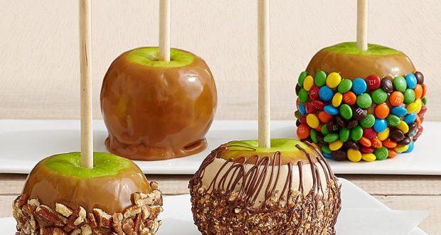 Candy Bar Caramel Apple