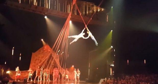 Cirque de Soleli Aerialist