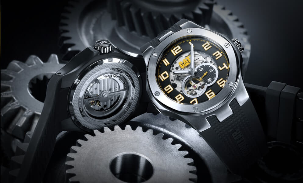 Buy watches for men and women from Caterpillar Brand.