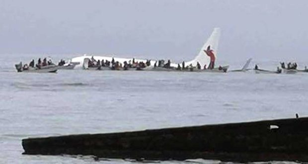 Air Niugini crashes