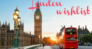 England Travel Wishlist
