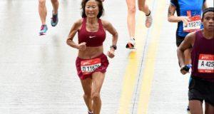 Jeannine Rice - marathon