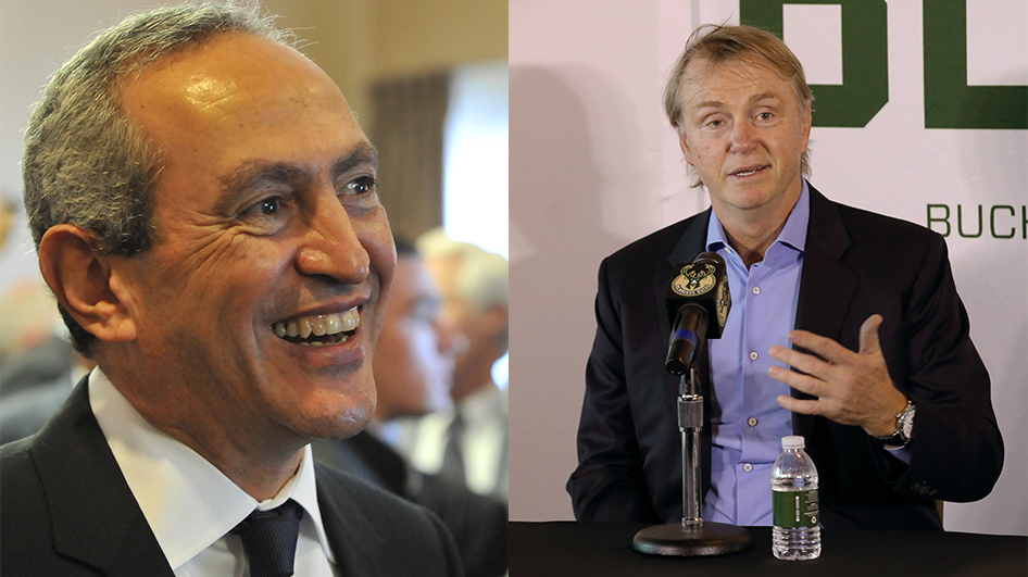 Nassef Sawiris and Wes Edens – championship team