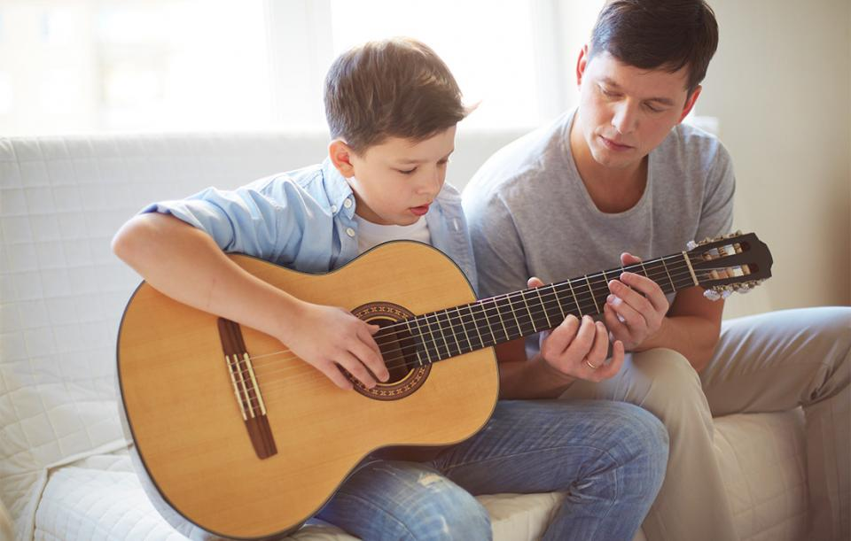 Children Still Learn to Play Instruments