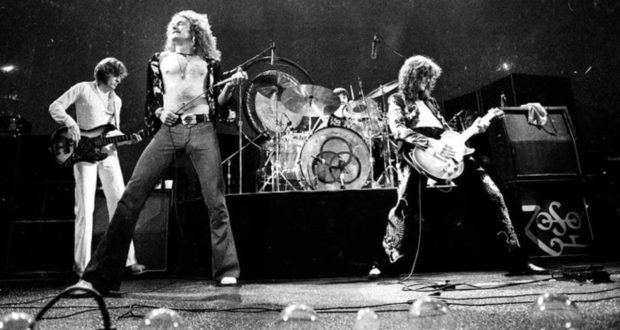 classic rock band Led Zeppelin