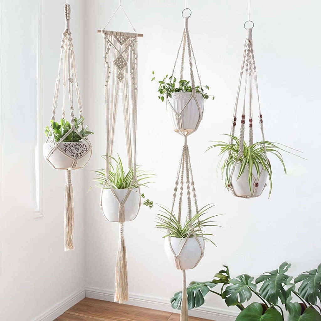 Futuristic corner 20 unique ideas for hanging pots