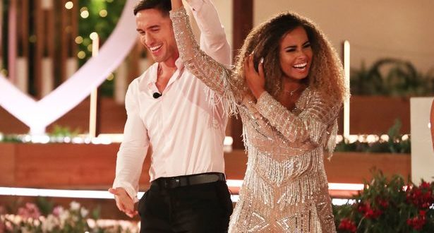 Love Island winners are.... Greg O'Shea and Amber Gill