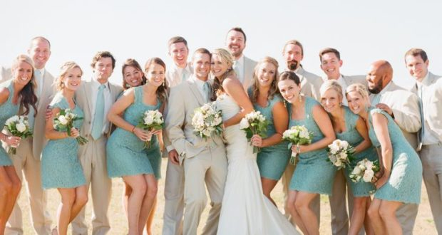 Perfect solutions for a stunning wedding party dress