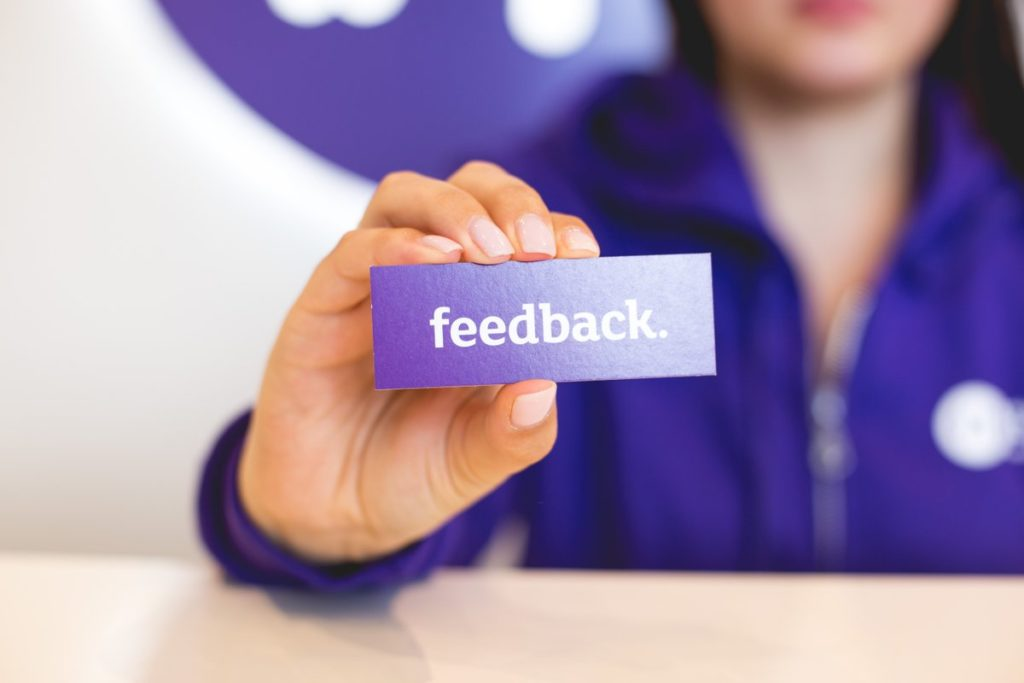 Take any form of feedback seriously Promoting Efficiency in the Workplace in 4 Steps