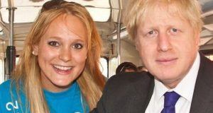 Ex-model Jennifer Arcuri alleges had affair with Boris Johnson