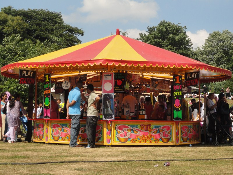 Funfair rides and stalls 6 Attractions Perfect for Office Parties