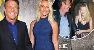Dennis Quaid defends dating young Laura Savoie