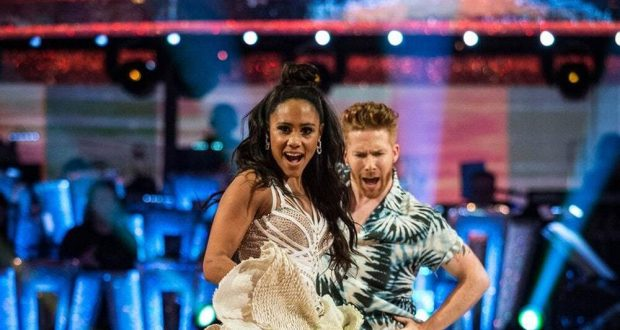 Strictly Come Dancing - Neil Jones injury