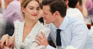Amid split rumor Matt Smith seen pictured with Lily James