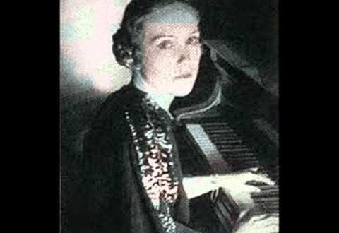 Ukrainian-Canadian Pianist Lubka Kolessa